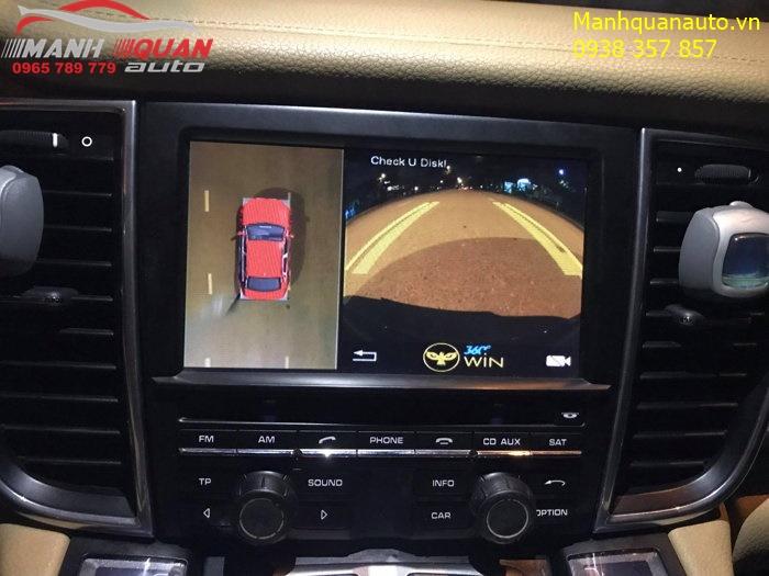 Báo Giá Camera 360 Độ Owin Pro Cho Xe Porsche | Mạnh Quân Auto