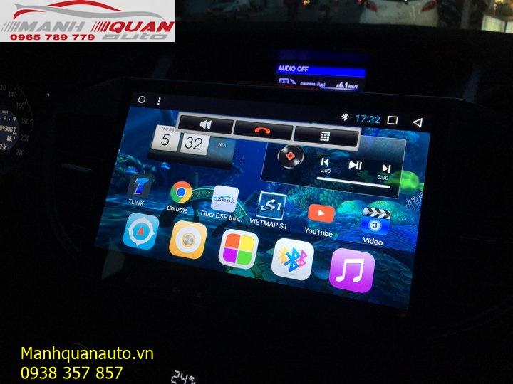 Báo Giá Đầu DVD Android Zulex Cho Xe Ô Tô Honda CRV 2013   0965789779