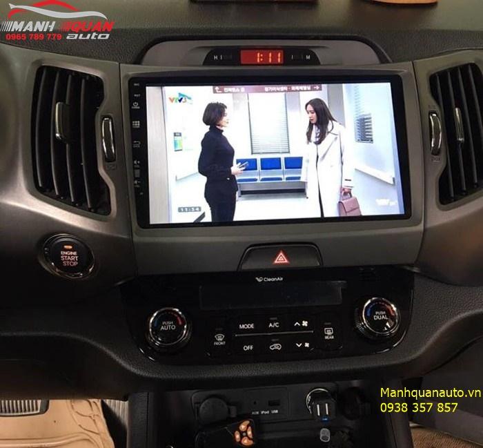 Báo Giá Đầu DVD Zestech Cao Cấp Cho Kia Sportage | Mạnh Quân Auto