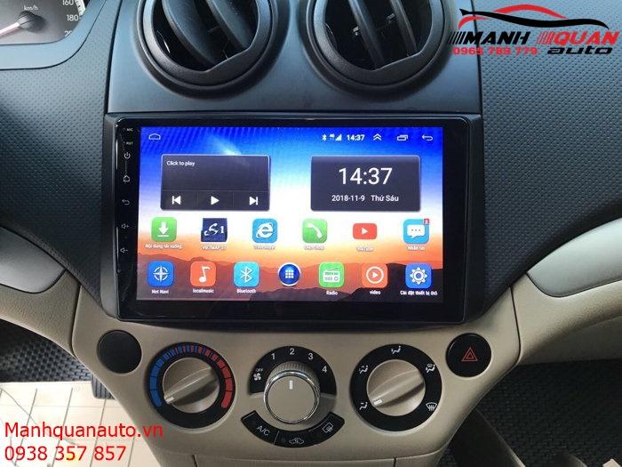 Báo Giá Màn Hình DVD Android Xe Chevrolet Aveo | Mạnh Quân