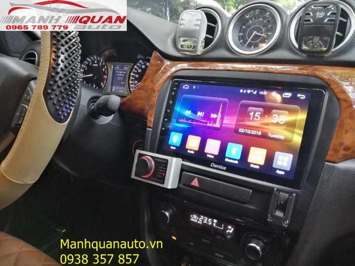 Báo Giá Màn Hình DVD Ownice c500+ Cho Suzuki Vitara   Mạnh Quân Auto