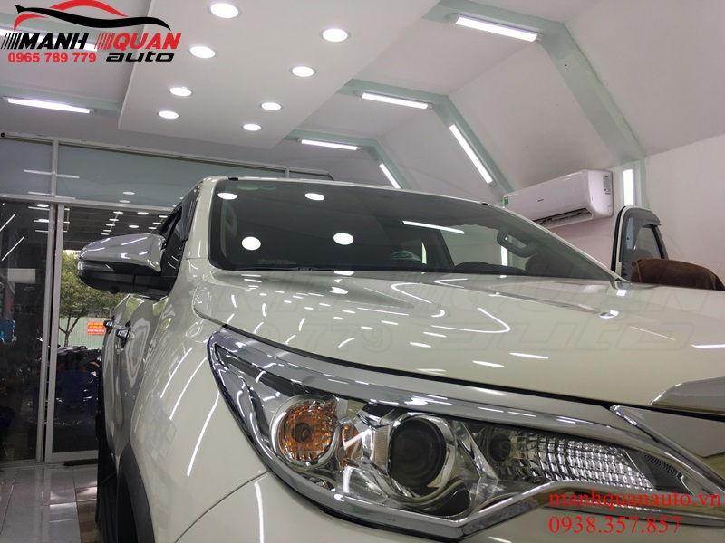 Báo Giá Sơn Phủ Cermic IGL Cho Ô Tô Toyota Fortuner TPHCM