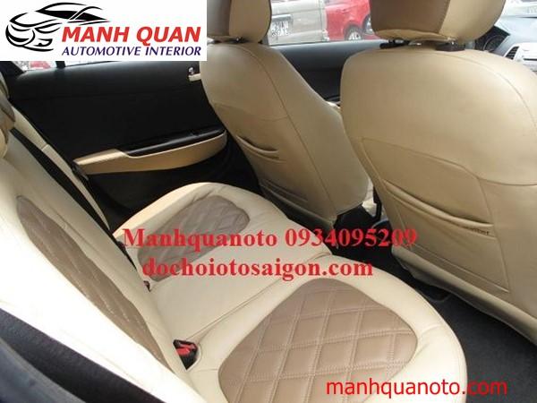 Bọc Ghế Da Cao Cấp Cho Toyota Hilux | Da Nhập Khẩu Cao Cấp