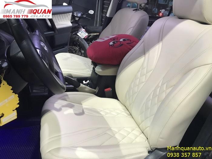 Bọc Ghế Da Chất Lượng Giá Rẻ Tại Tp HCM - Toyota Land Cruiser