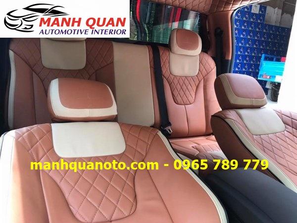 Bọc Ghế Da Xe Chevrolet Spark 2017 | Đổi Màu Nội Thất Ô Tô