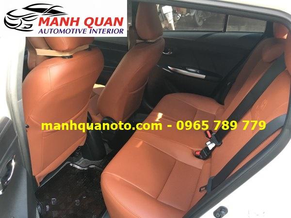 Bọc Ghế Da Xe Hyundai i10 2017 | Đổi Màu Nội Thất Ô Tô