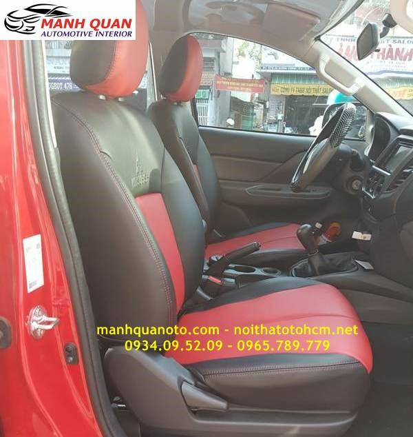 Bọc Ghế Da Xe Mitsubishi Attrage 2017 | Đổi Màu Nội Thất Ô Tô