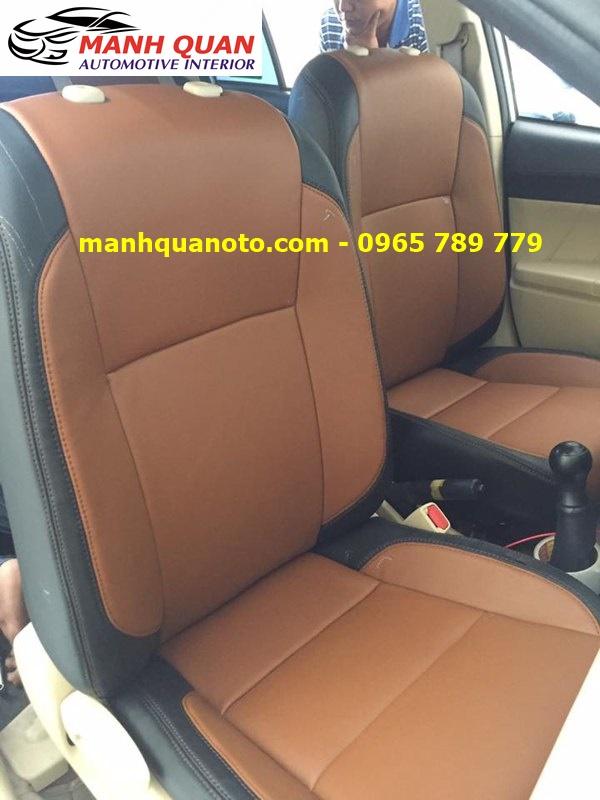 Bọc Ghế Da Xe Toyota Altis 2017 | Đổi Màu Nội Thất Ô Tô