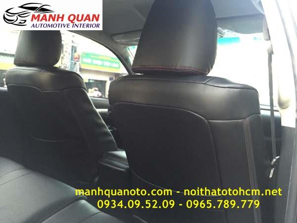 Bọc Ghế Da Xe Toyota Land Cruiser Prado | Đổi Màu Nội Thất Ô Tô