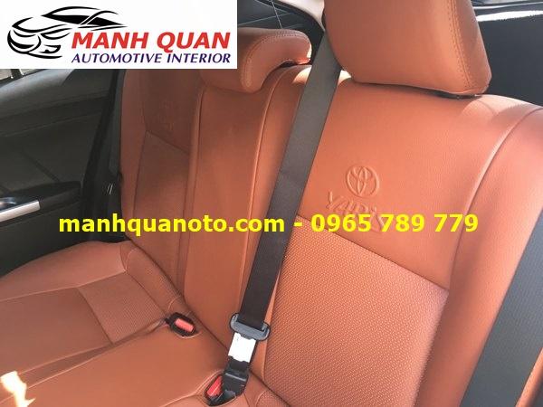 Bọc Ghế Da Xe Toyota Yaris 2017 | Đổi Màu Nội Thất Ô Tô