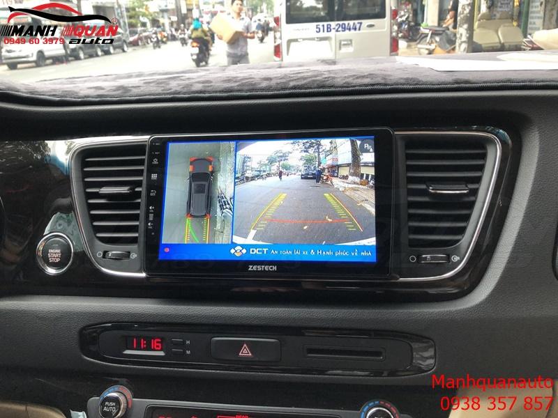 Camera 360 DCT Bản T1 Cho Kia Sedona Gía Rẻ Nhưng Chất Lượng