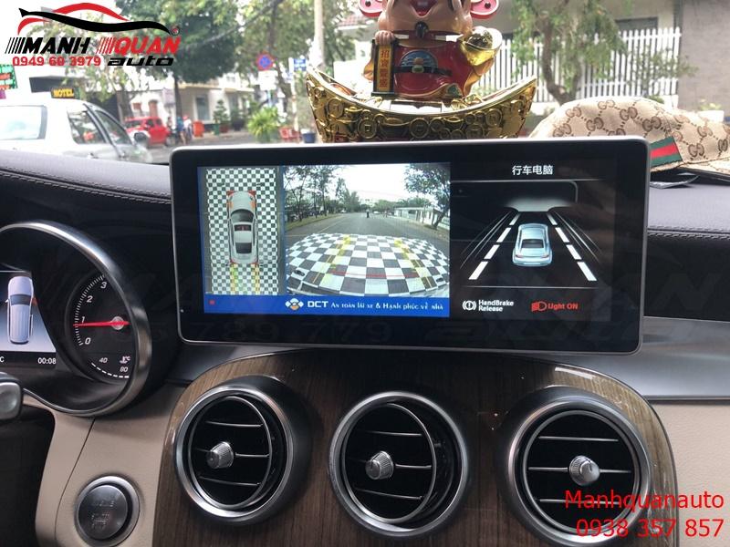 Camera 360 DCT Bản T1 Cho Mercedes GLC 250 Mắt Sony Rõ Nẻt