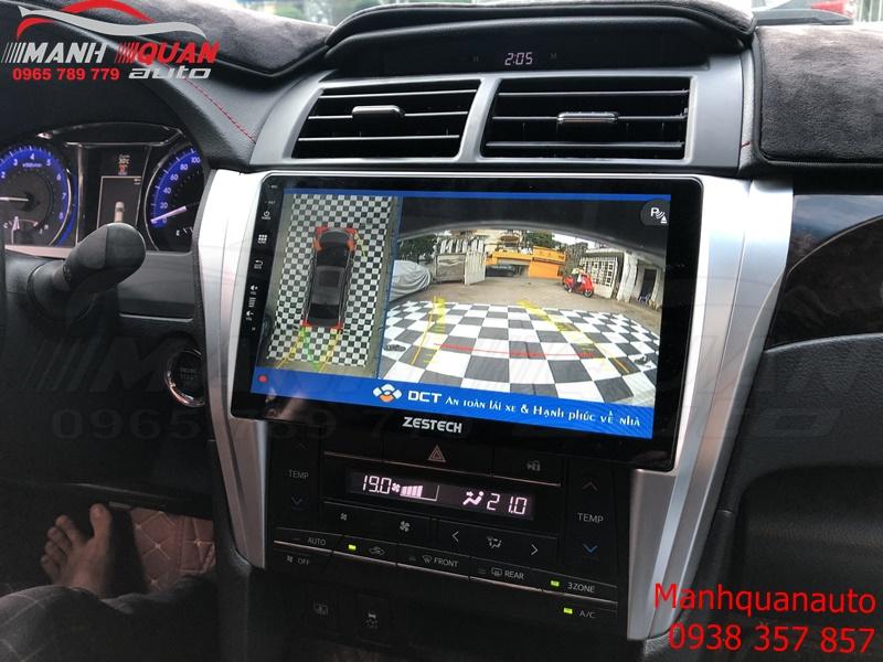 Camera 360 DCT Bản T1 Cho Toyota Camry- Chuẩn Xác Đến Từng Centimet