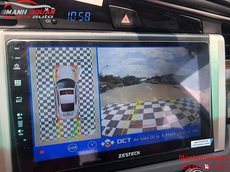 Camera 360 DCT Bản T1 Cho Toyota Innova Mắt Sony Chuẩn Xác