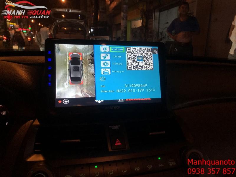 Camera 360 DCT Bản T3 Cho Honda Accord Camera Siêu Nét Siêu Chất Lượng