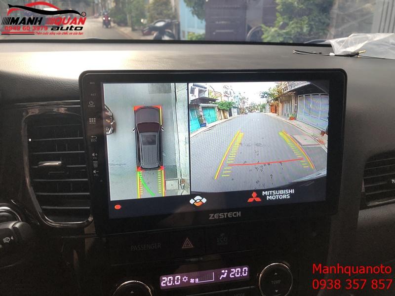 Camera 360 DCT bản T3 cho Outlander - Quan sát xế cưng sắc nét đến từng chi tiết