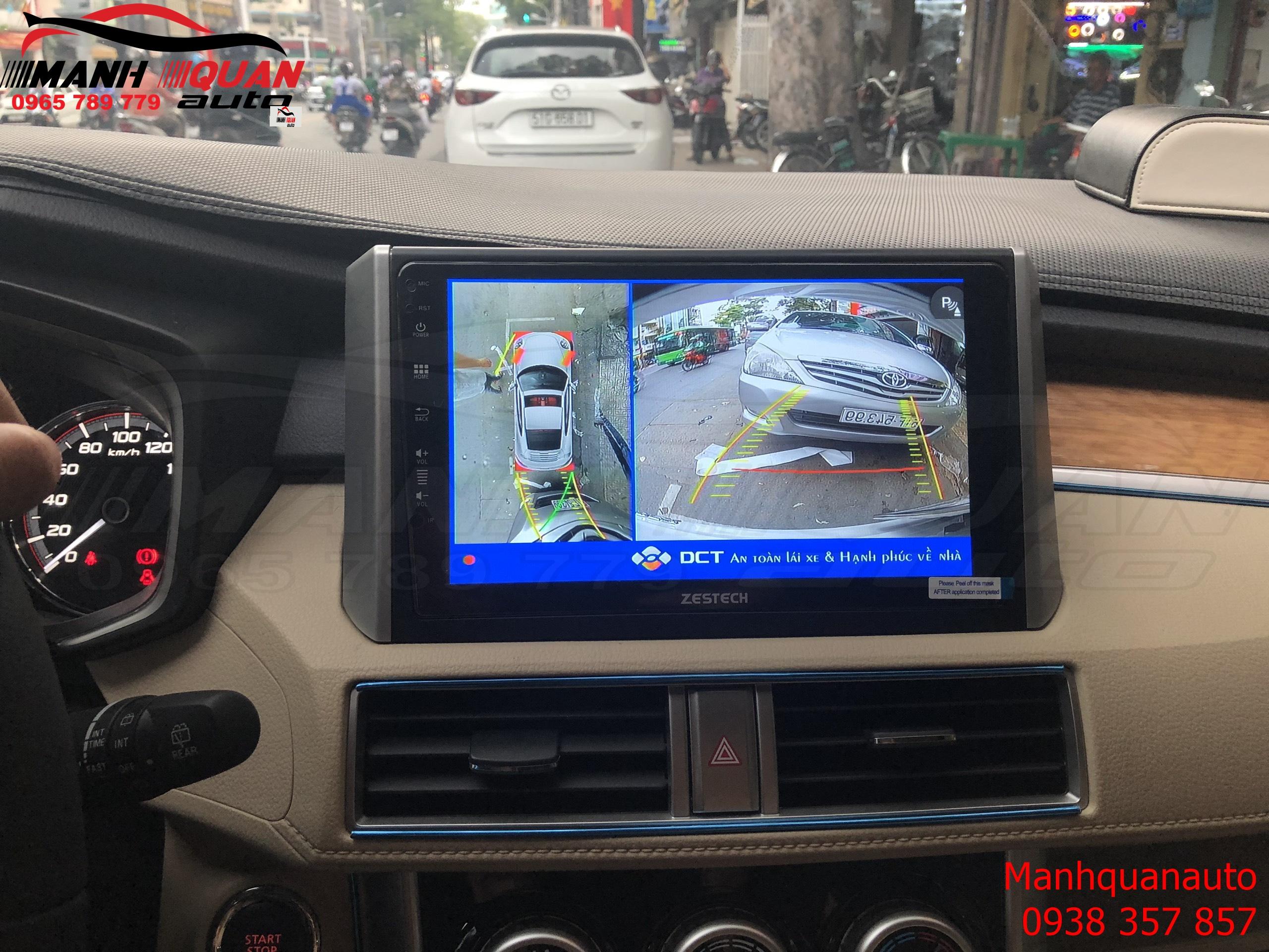 Camera 360 DCT Cho Mitsubishi Xpander Cao Cấp Sắc Nét- Bản T1
