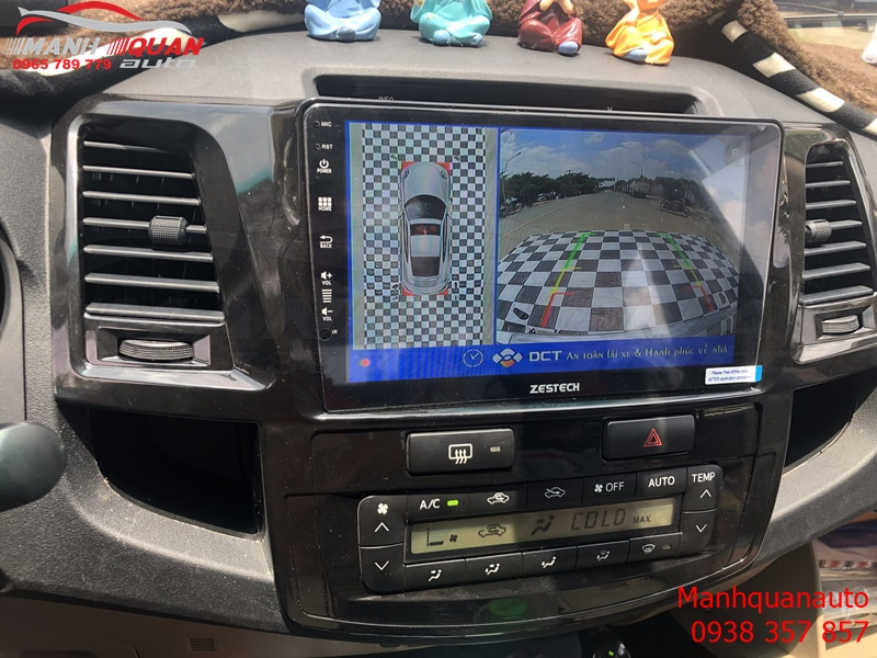 Camera 360 DCT Cho Toyota Fortuner 2015- Bản T1
