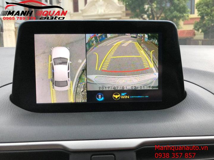 Camera 360 Độ Owin Giá Rẻ Cho Ô Tô - Mạnh Quân Auto | 0965789779