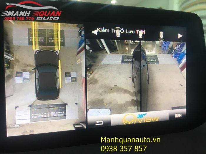 Camera 360 Độ Oview Phiên Bản Mới Cho Mazda 3 - Mạnh Quân Auto