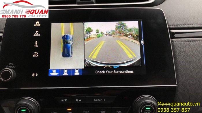 Camera 360 Độ Owin   Camera Mang Lại Đẳng Cấp Cho Honda CRV