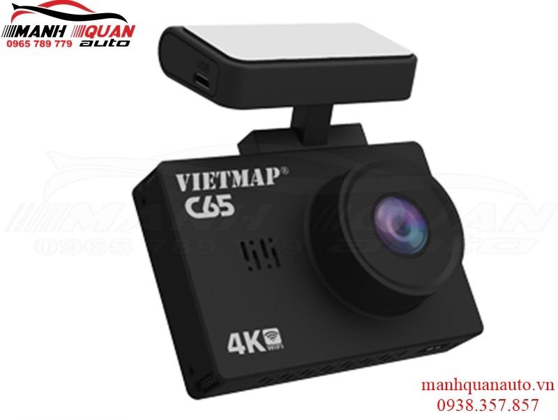 Camera Hành Trình Trước Sau Vietmap C65 – Cảnh Báo Giao Thông Bằng Giọng Nói