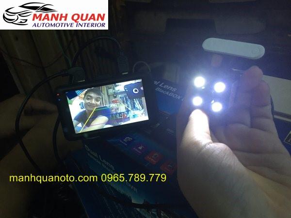 Camera Hành Trình Vicom DVR 820 Ghi Hình Trước Và Sau Xe Sabaru Impreza WRX