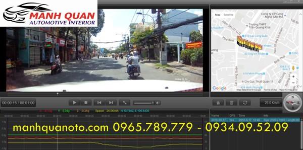 Camera Hành Trình VietMap K9 Pro Cảnh Báo Giao Thông Cho Isuzu D-Max
