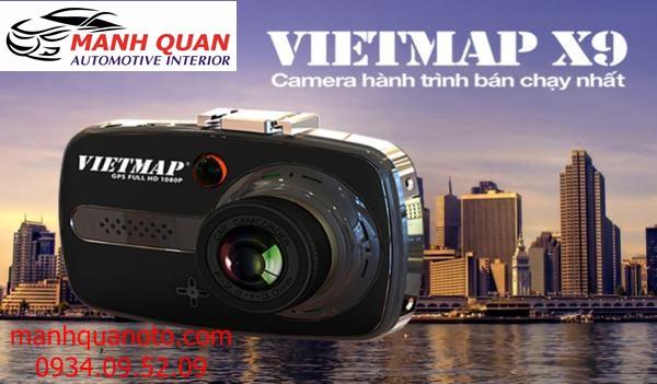 Camera Hành Trình VietMap X9 Cho Xe Toyota Vios