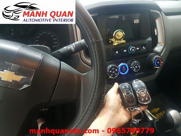 Chìa Khóa Thông Minh Smart Key Theo Xe Chevrolet Aveo