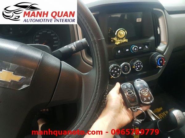 Chìa Khóa Thông Minh Smart Key Theo Xe Chevrolet Captiva