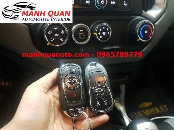 Chìa Khóa Thông Minh Smart Key Theo Xe Chevrolet Colorado