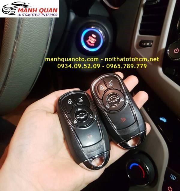 Chìa Khóa Thông Minh Smart Key Theo Xe Chevrolet Cruze