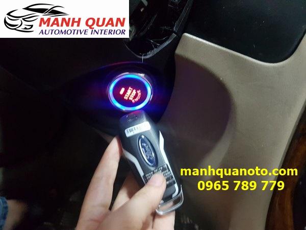 Chìa Khóa Thông Minh Smart Key Theo Xe Ford Focus