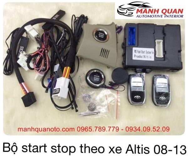Chìa Khóa Thông Minh Start Stop Smart Key Cho Toyota Altis 2008 - 2013
