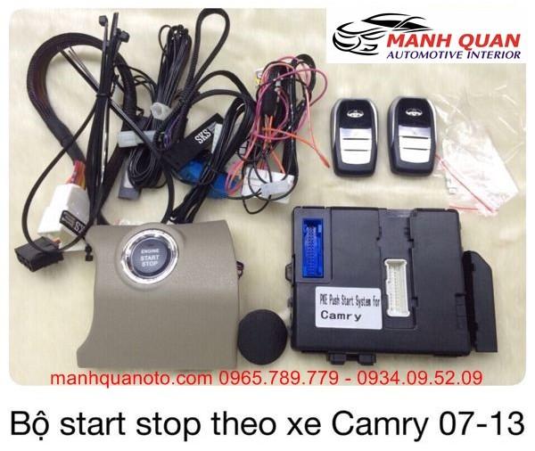 Chìa Khóa Thông Minh Start Stop Smart Key Cho Toyota Camry 2008 - 2013