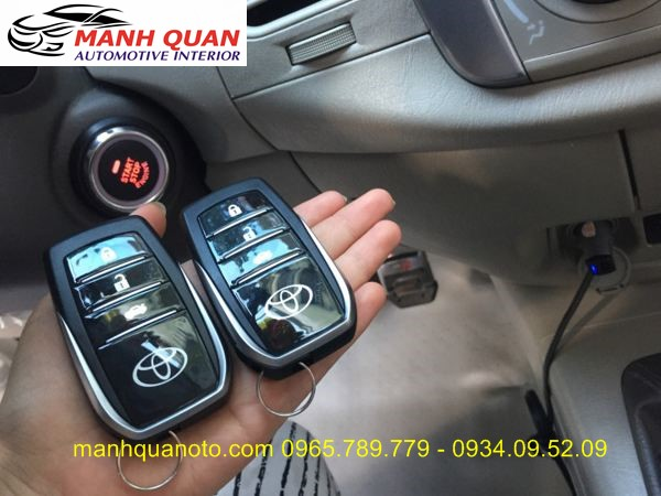 Chìa Khóa Thông Minh Start Stop Smart Key Cho Toyota Innova 2008 - 2013
