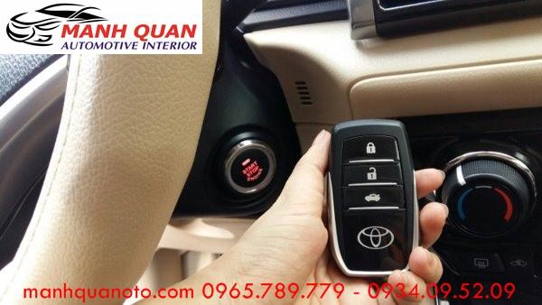 Chìa Khóa Thông Minh Start Stop Smart Key Cho Toyota Land Cruiser 2014 - 2016