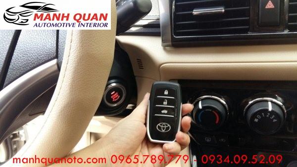 Chìa Khóa Thông Minh Start Stop Smart Key Cho Toyota Prado 2008 - 2013