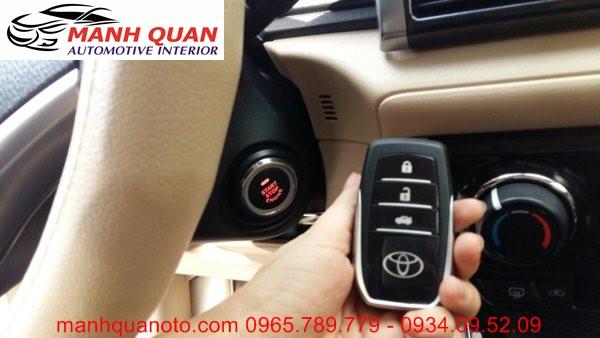 Chìa Khóa Thông Minh Start Stop Smart Key Cho Toyota Sienna 2008 - 2013