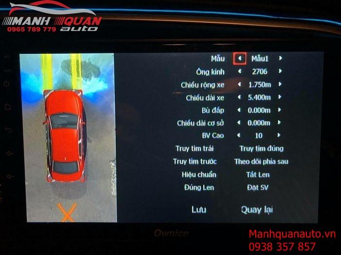 Cung Cấp Siêu Phẩm Camera 360 Owin Cho Các Dòng Xe - Hyundai Elantra