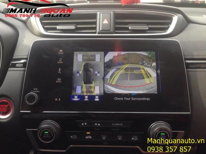 Cung Cấp Và Lắp Đặt Các Loại Camera 360 Độ Cho Ô Tô - Honda CRV