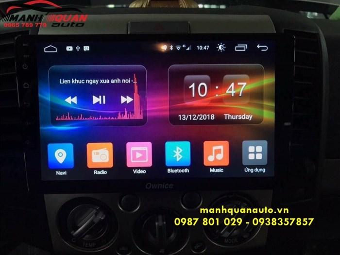 Cung Cấp Và Lắp Đặt Màn Hình Android Ownice C500+ Cho Ford Everest