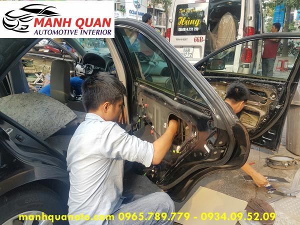 Dán Cách Âm Chống Ồn 3M Cao Cấp Cho Mitsubishi Grandis