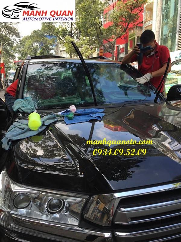 Dán Phim Cách Nhiệt Cho Xe Nissan Navara | Mạnh Quân Ô Tô