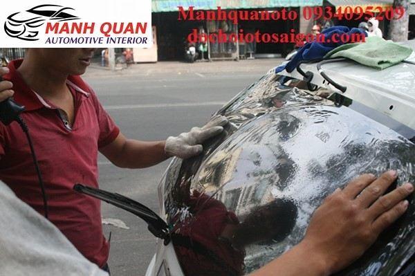 Dán Phim Cách Nhiệt Cho Xe Nissan Sunny | Mạnh Quân Ô Tô