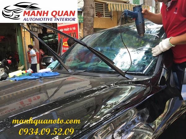 Dán Phim Cách Nhiệt Cho Xe Nissan X-Trail   Mạnh Quân Ô Tô
