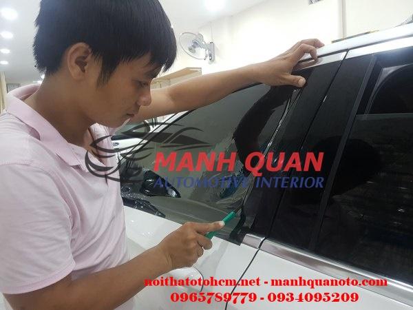 Dán Phim Cách Nhiệt Llumar Cho Mazda CX9
