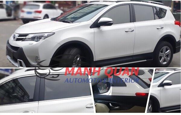 Dán Phim Cách Nhiệt Llumar Cho Toyota Sienna