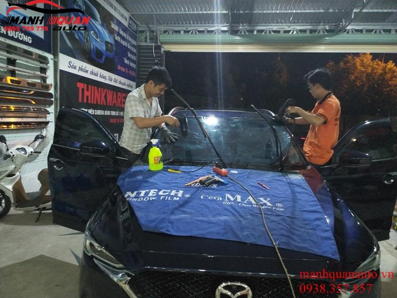 Dán Phim Cách Nhiệt Ntech Oto Mazda Cx5 - Không Lo Nắng Nóng